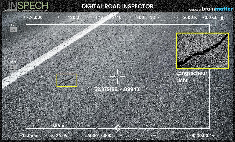 Inspech digital road inspector