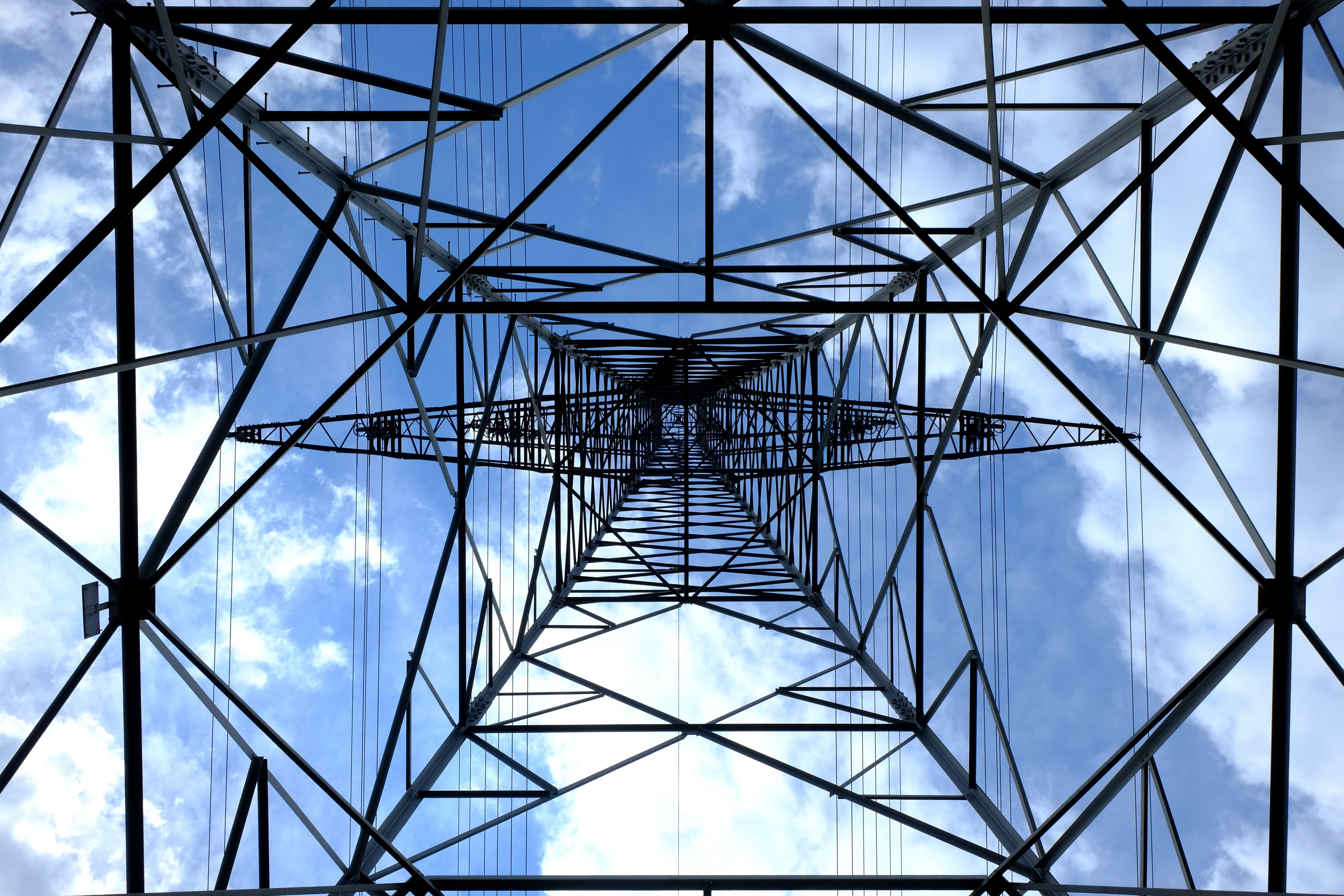 low-angle-photograph-of-black-metal-tower-satellite-during-159279